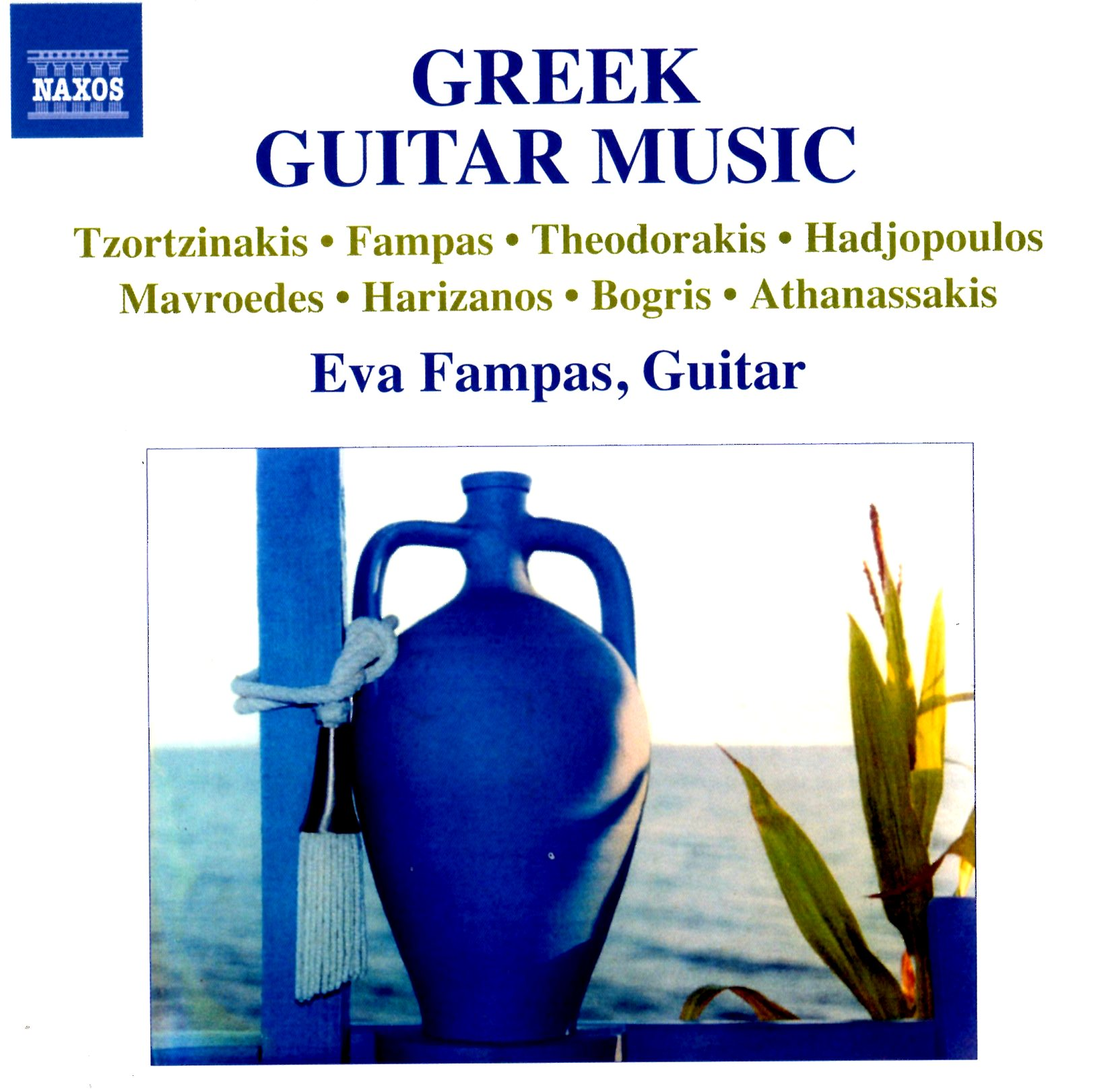 GREEK GUITAR MUSIC, Eva Fampas guitar / cd NAXOS