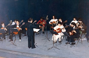 Fampas guitar orchestra